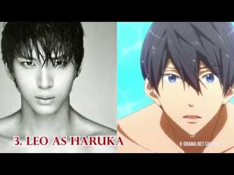 15 Kpop Stars That Are Basically Anime Characters In Real Life Youtube K Pop Star Anime Characters Anime