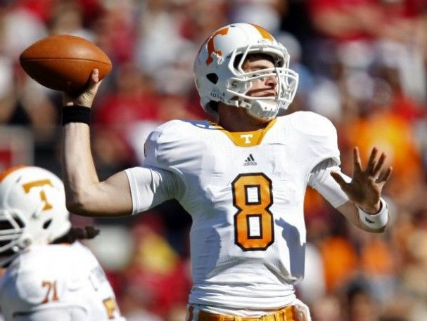Tyler Bray - Tennessee / 333 yds passing with 2 TDs vs North Carolina State in opener.