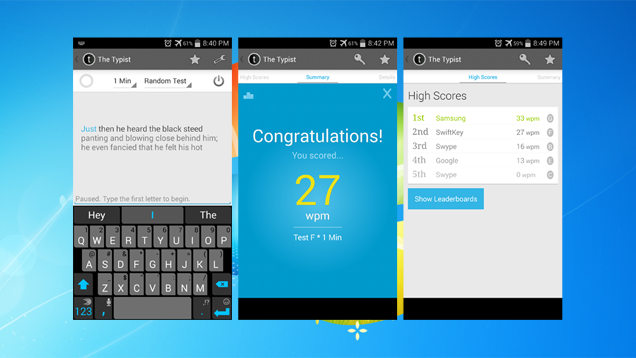 Typist Helps You Find Out Which Android Keyboard Works