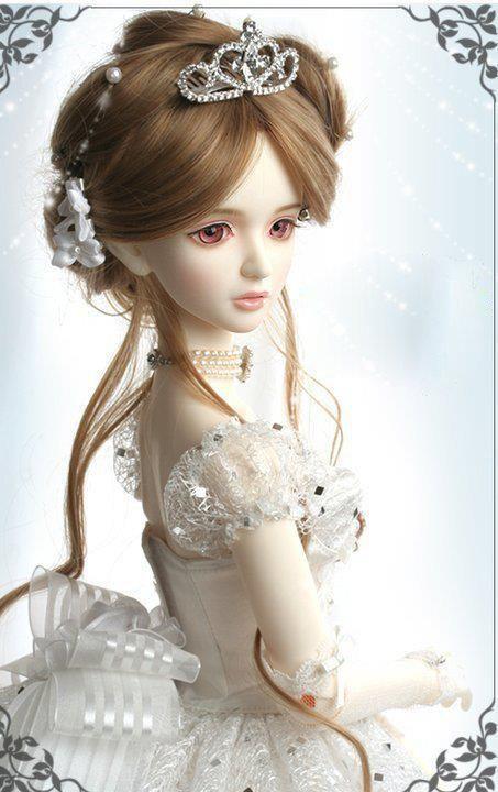 White Princess Doll Pinterest Cute Dolls Beautiful Dolls And