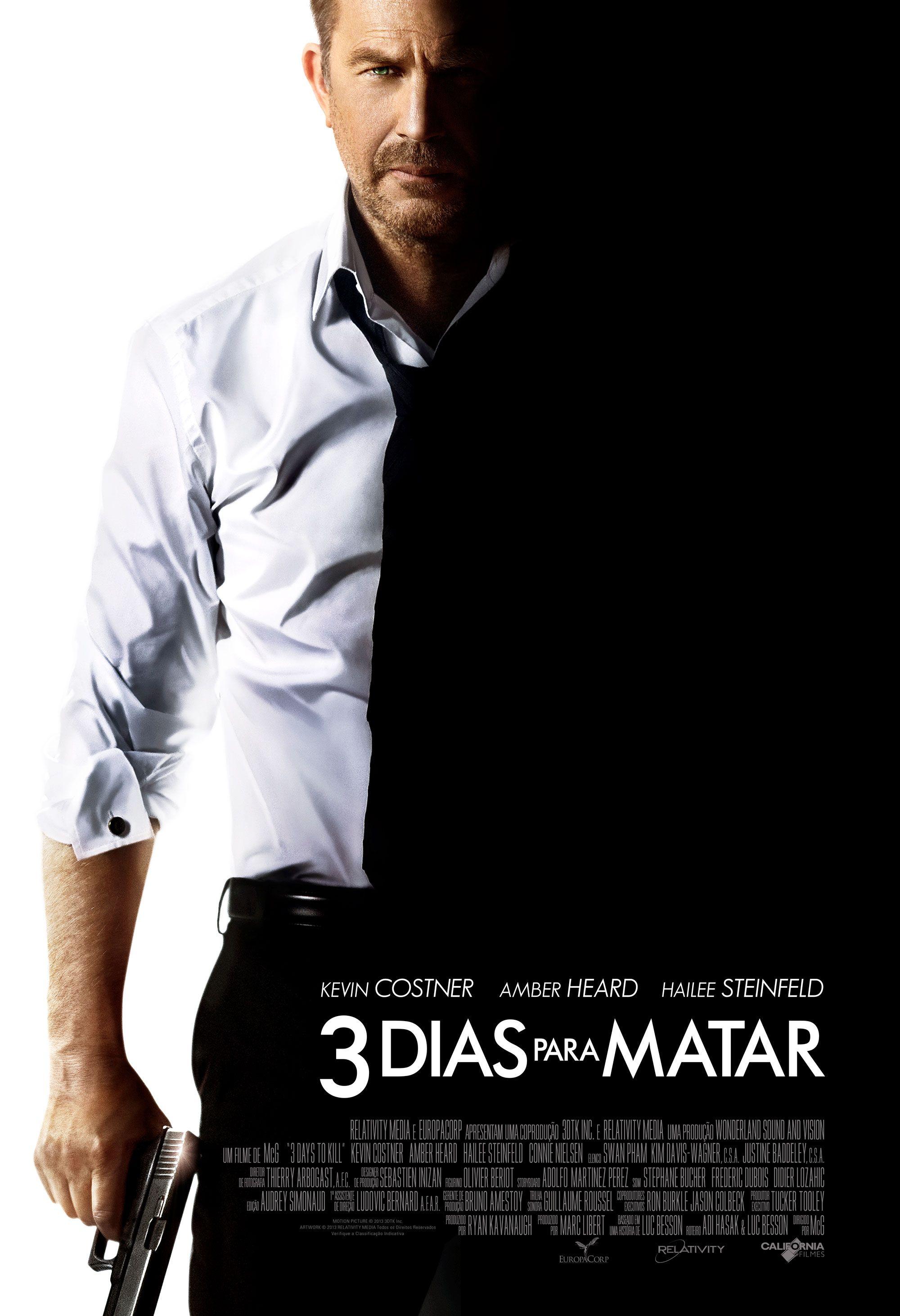 Assistir Filme 3 Dias Para Matar Filme Dublado Online Posteres