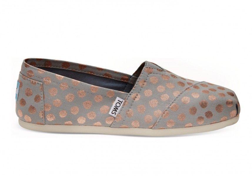 Chaussures La Cabottine - Chaussures et accessoires pour femmes à Saint-Hyacinthe – Toms - Alpargata - Rose gold