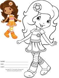 strawberry shortcake and friends coloring pages to print - Buscar ...