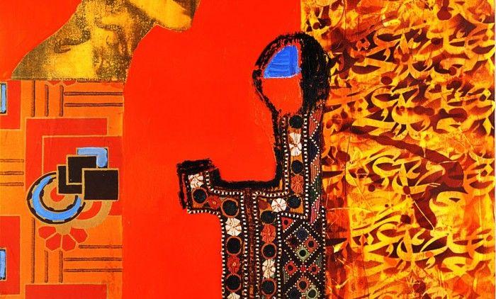 Another masterpiece of the Gulf artist Nabeela !