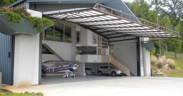 Your Home In A Hangar Perfect Airplane Hangar Pinterest