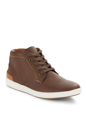 0427478155d STEVE MADDEN Lace-Up Leather Sneakers. #stevemadden #shoes #flats ...