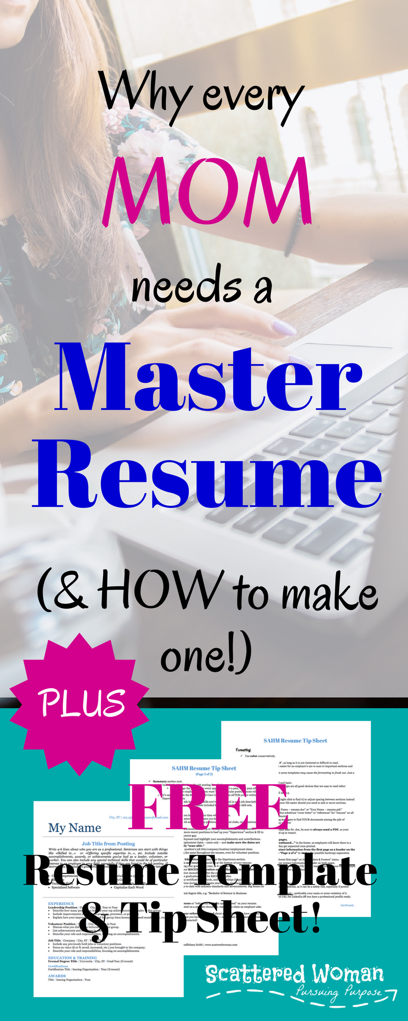 Why Every Mom Needs a Master Resume (& How to Make One