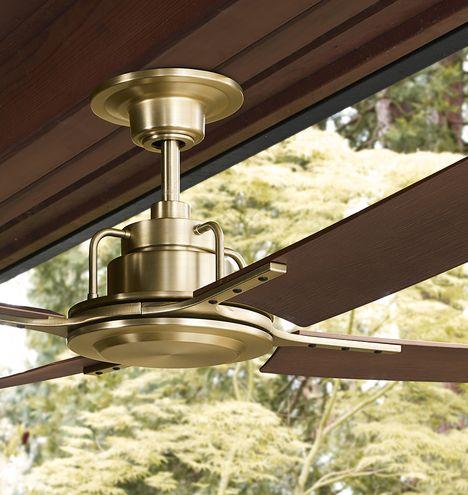Peregrine Industrial Ceiling Fan Industrial Ceiling Fan Ceiling Fan Brass Ceiling Fan