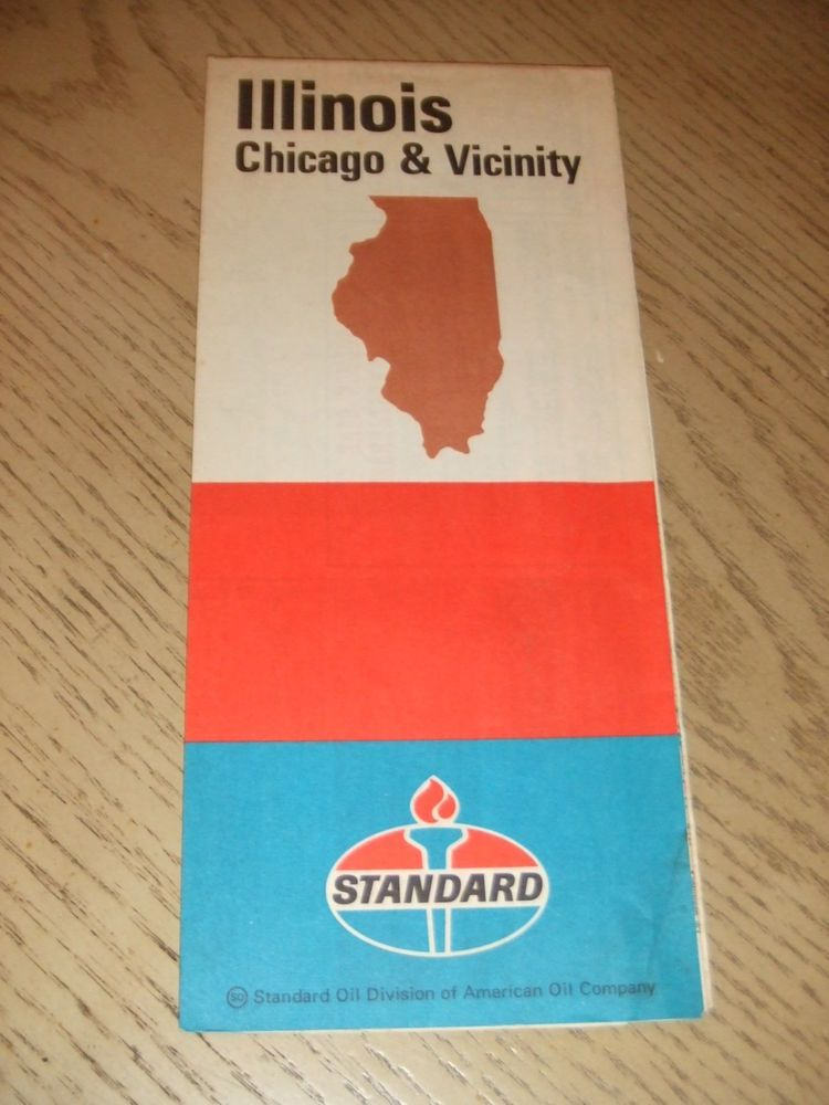 VINTAGE 1970 Standard Gas Oil Illinois State Highway Road Map Peoria on il state jobs, il state library, indiana road map, indiana rd map, il state road 100, iowa state map, il united states map, i'll state map, il hwy map, central illinois road map, missouri and illinois road map, il state university, illinois territory map, springfield il area map, i'll road map, illinois state highway map, il county map with roads,