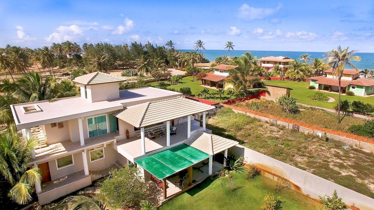 Casa moderna de praia em Porto de Sauípe Bahia 4k