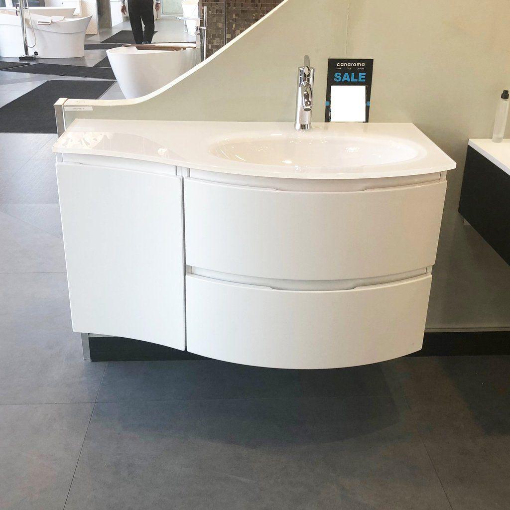 Baden Haus Bathroom Vanity Vague Single Sink White Single Sink Bathroom Vanity Bathroom Vanity Cabinets
