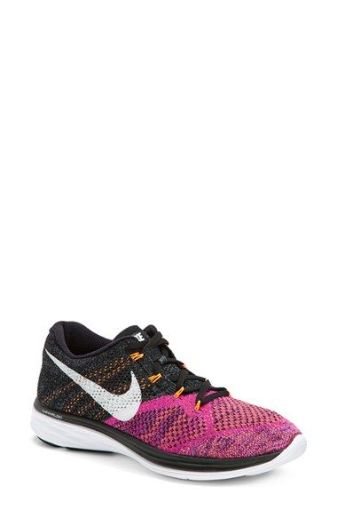 43425c06be77c Nike  Flyknit Lunar 3  Running Shoe (Women) available at  Nordstrom ...
