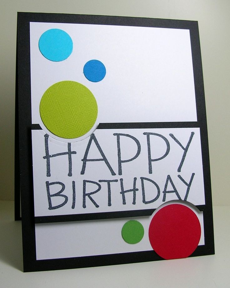 Charming Birthday Card Ideas For Toddlers To Make Part - 13: Great For A Boys Birthday Card. Very Neutral.