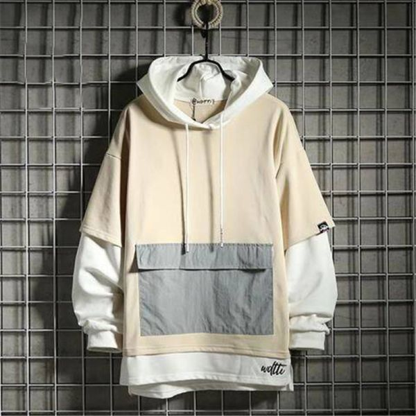 US $19.9 30% OFF|Korean Oversized Hoodies Men Women Solid Hoodies Streetwear Hooded Sweatshirts 2019 Hip Hop Man Casual Autumn Hooded Hoody Males|Hoodies & Sweatshirts|   – AliExpress