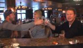 #BodeMiller (wearing #Kaenon Burny Matte Black #sunglasses) and his wife Morgan, join @Access Hollywood's  #BillyBush as they hit the Red Fox Tavern in the mountains overlooking #Sochi for some vodka tasting.