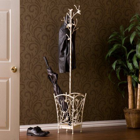 portemanteau portemanteaux free shipping buy southern enterprises branch and bird hall tree french vanilla at walmart