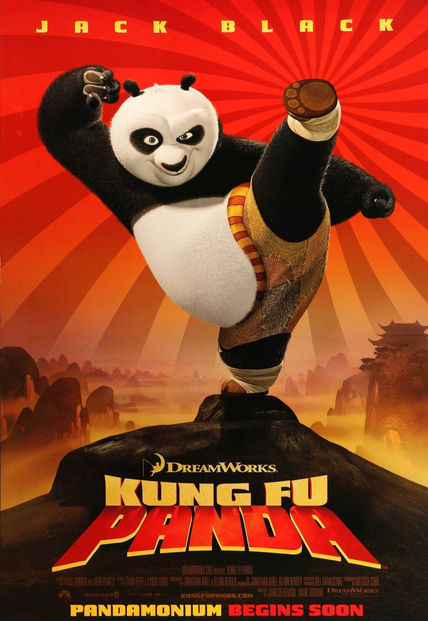 This Trailer Starts Off Slow Paced With Tension Building While A Narrator Introduces The Characters The Tension The Panda Movies Kung Fu Panda Animated Movies
