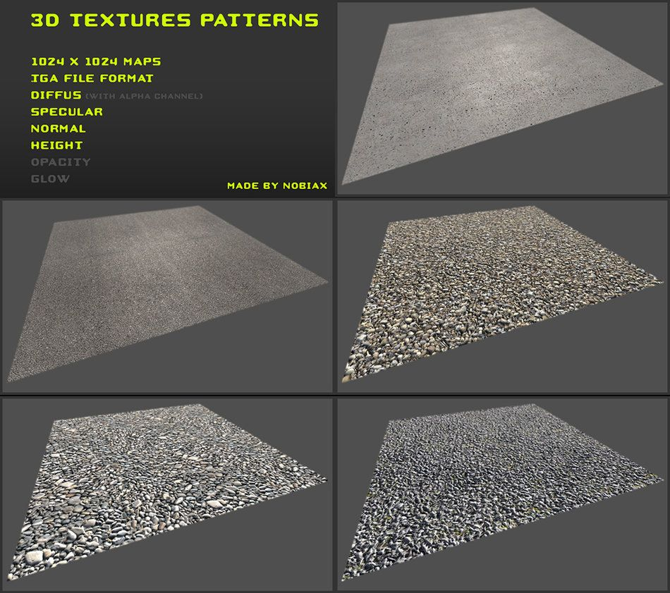 Free 3d Textures Pack 09 By Nobiax On Deviantart Free 3d Textures Texture Packs Texture