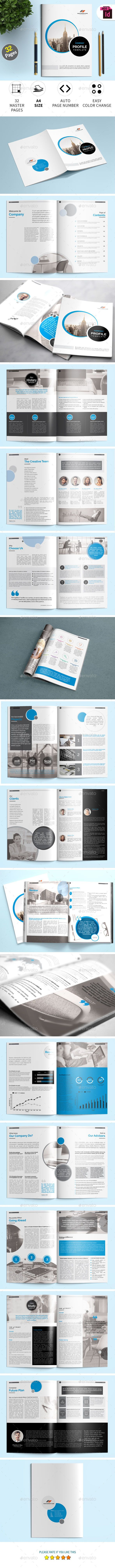 Company Profile InDesign Template | Pinterest | Indesign templates ...