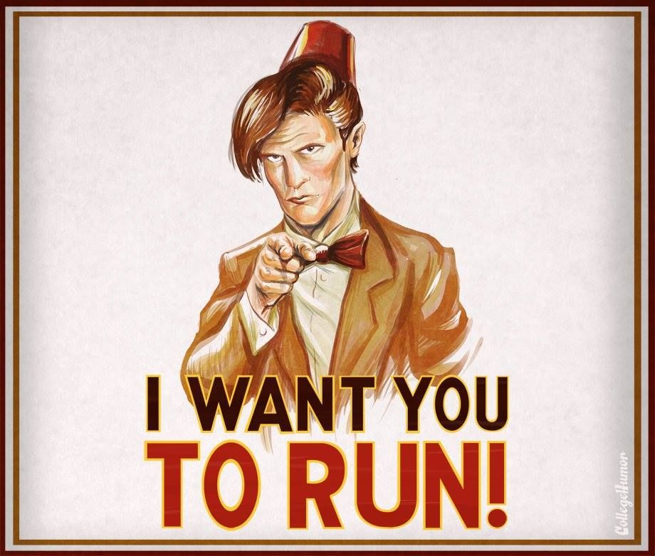 I want you to run ! #dw #eleven