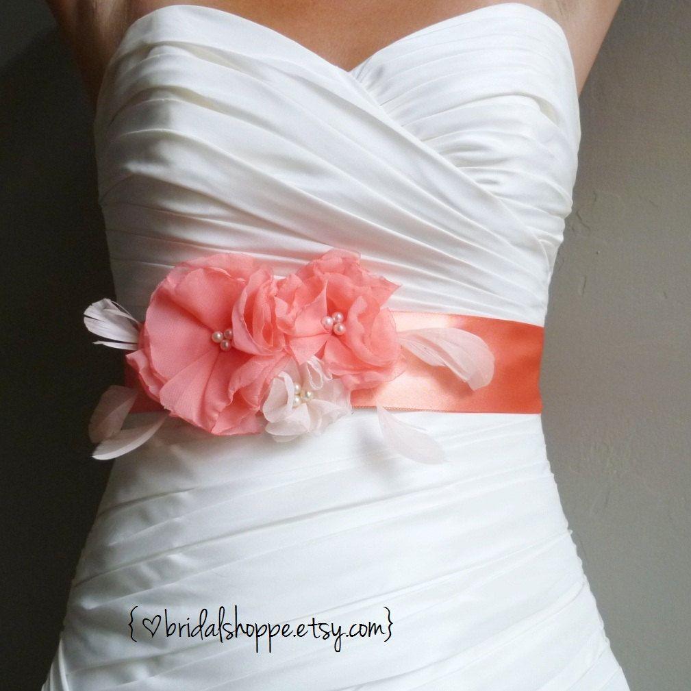 AUBREY Wedding Sash Maternity Sash Bridal Belt in by BridalShoppe ...