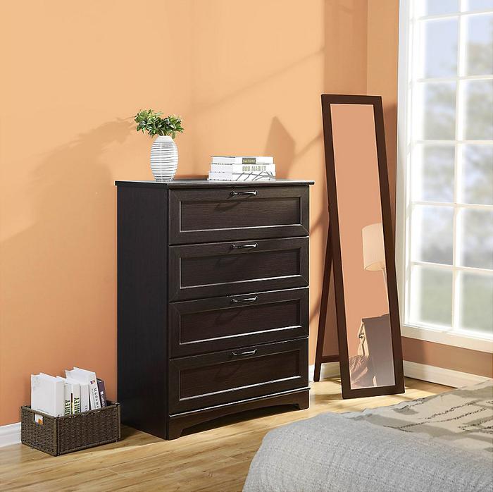Aparador Madeira E Vidro ~ Ropa ordenada en un lugar muy clásico #Cómoda #Dormitorio #Muebles #Sodimac #Homecenter For
