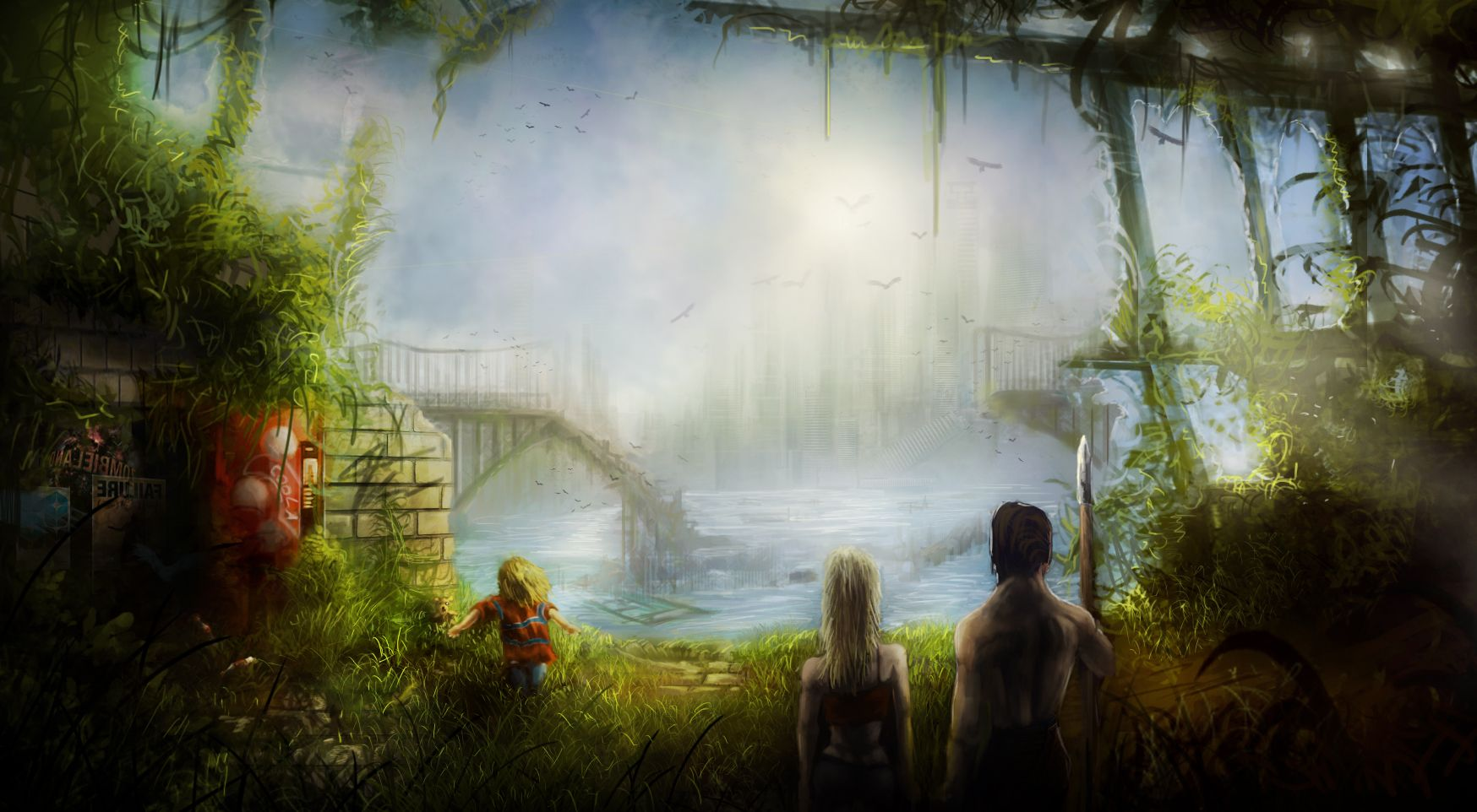 post apocalyptic world by fmikeart on DeviantArt