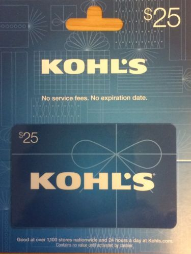 Coupons Giftcards Kohls 25 Gift Card Free Shipping Coupons Giftcards Gift Card Cards Gift Coupons
