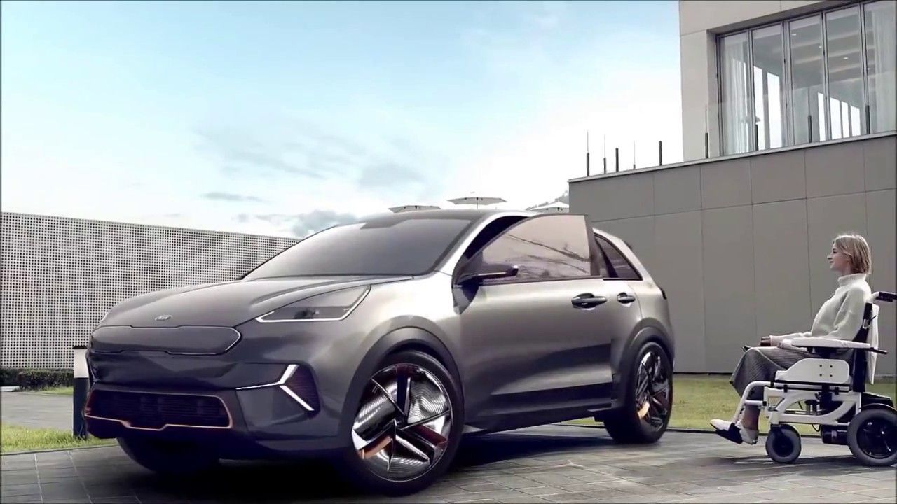 New 2020 Kia Niro Ev Interior Exterior Vast For All Kia Presents Vision For Future Portability At Ces 2018 Kia Presents Self Governing Associated And