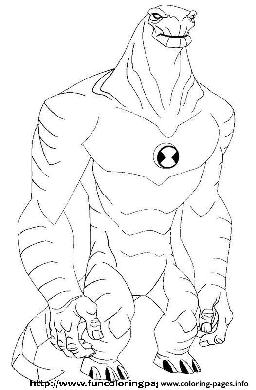 Print Dessin Ben 10 5 Coloring Pages