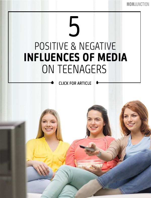 11 Positive And Negative Influences Of Media On Teenagers