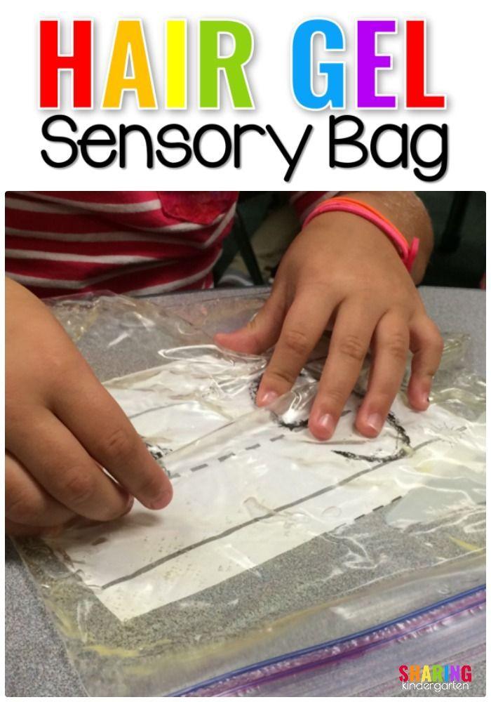 Classroom teacher Hair Gel Sensory Bag