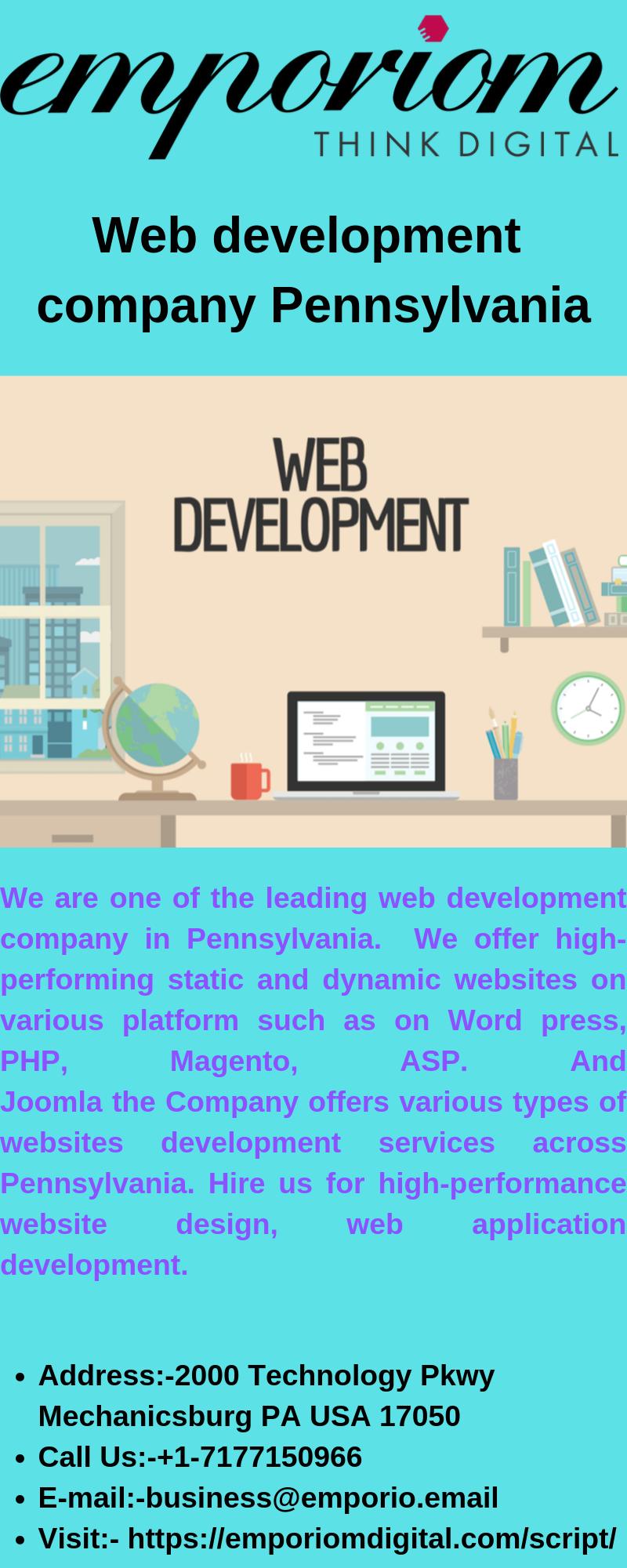 Web Development Company Pennsylvania Web Development Company Interactive Advertising Web Development