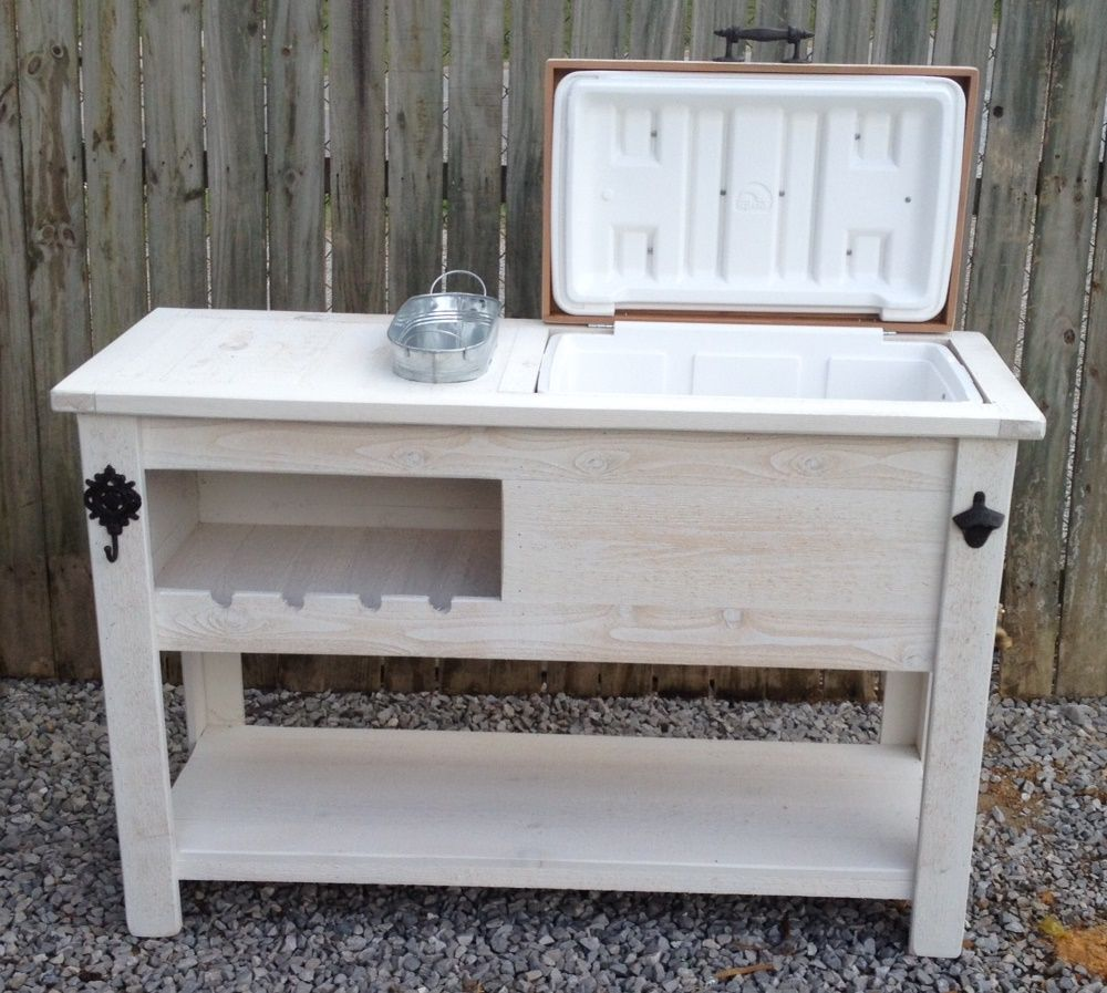 Rustic Cooler Table   Buffet   Sideboard   Serving Table   Storage Cabinet    Bar Cart   Kitchen Island   Vanity   Farm Table   Dresser