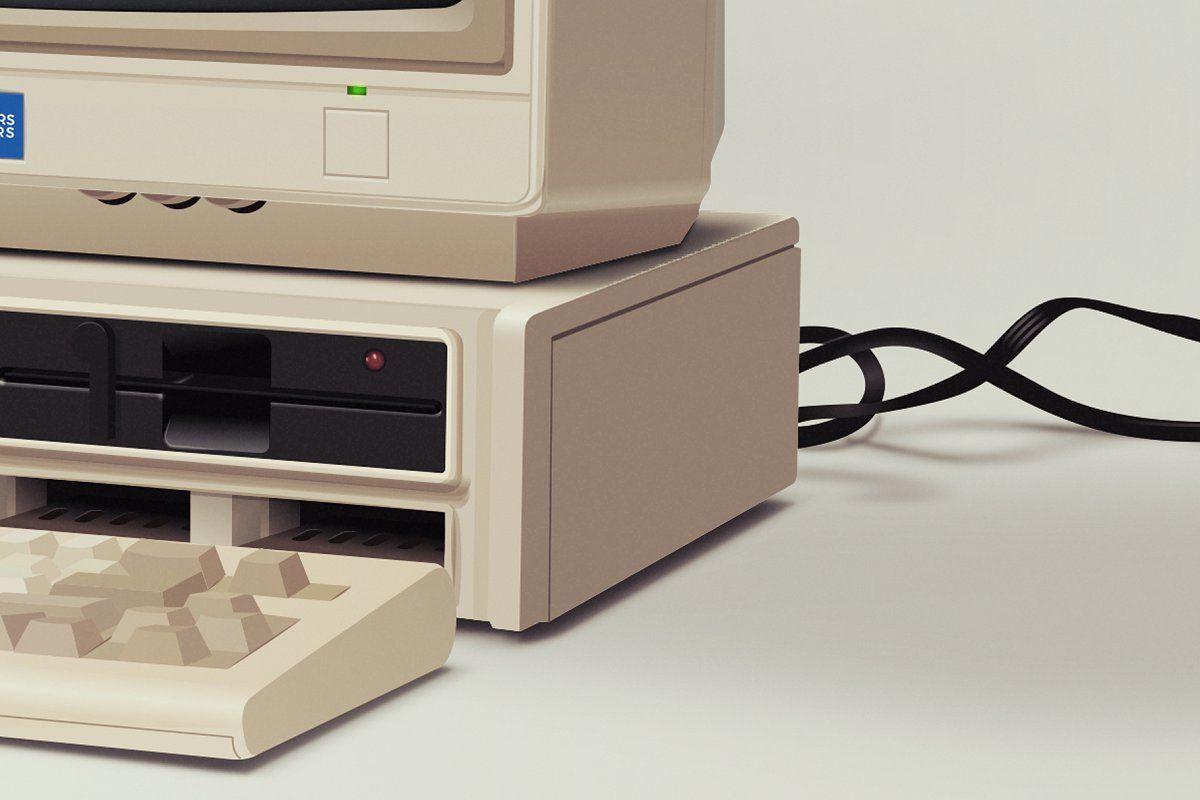 Image result for pc retro web design hd