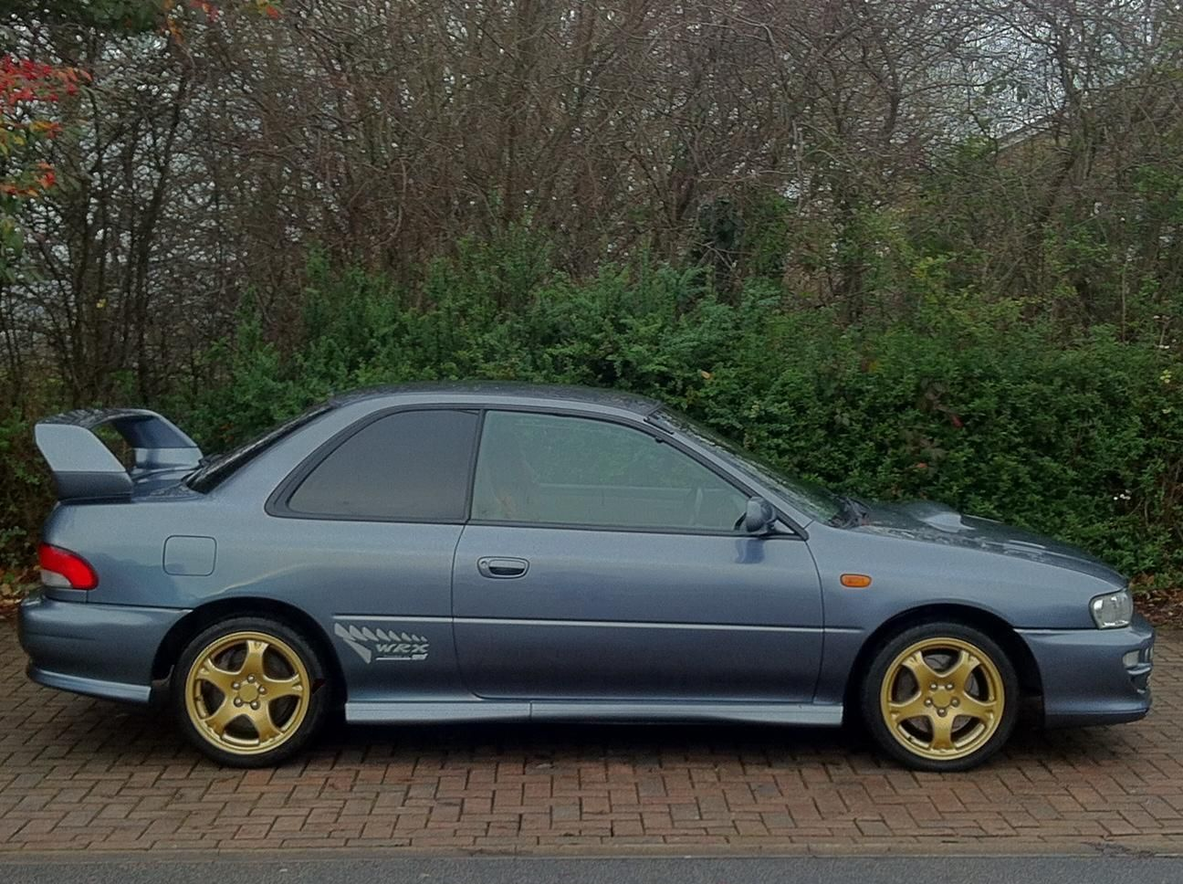 Looking For A 1999 Subaru Impreza 2 0 Wrx Sti Type R V5 2 Door Coupe P1 This One Is On Ebay Subaru Impreza Subaru Wrx Sti