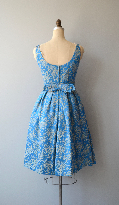 Rappi brocade dress vintage s party dress brocade s dress
