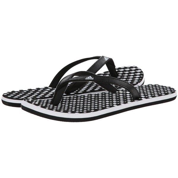 Womens Sandals adidas Eezay Dots Black/White