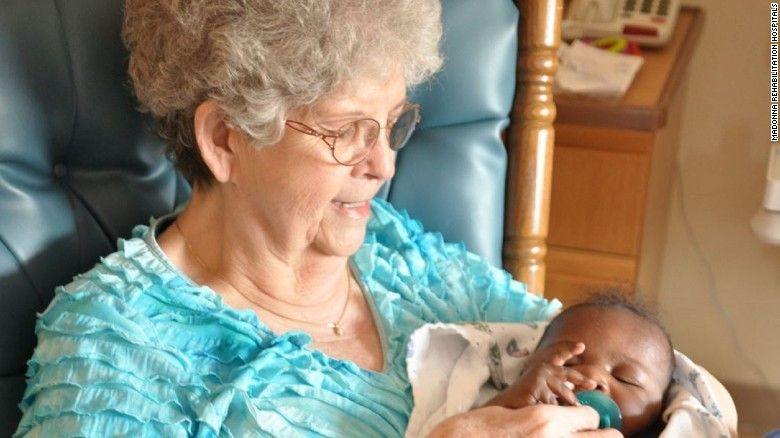 These hospital 'baby rockers' take care of infants who