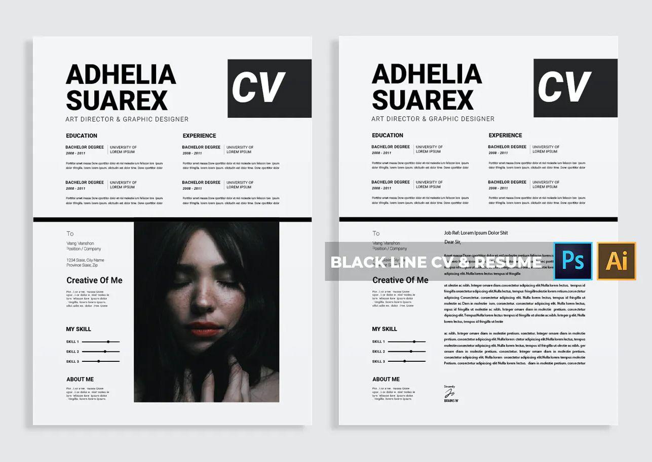 CV & Resume Design Template in 2020 Resume design