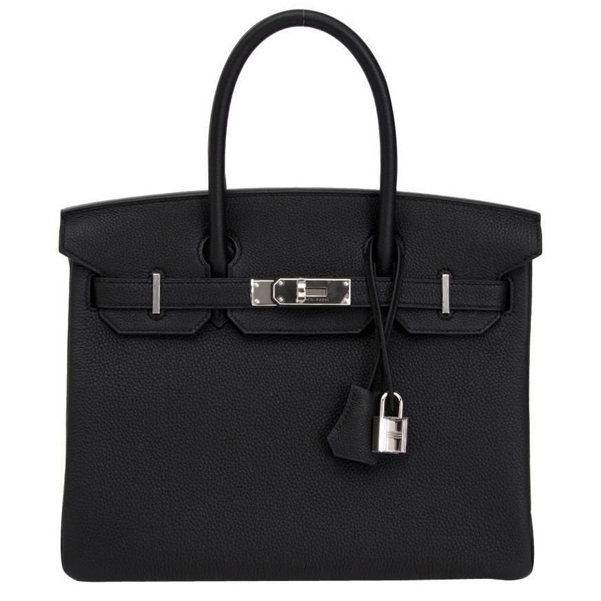 ec32452306 Brand new Hermes Birkin 30 Togo Black 1