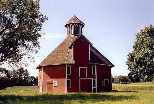 Indiana Laporte County Door Prairie Round Barn 2 113