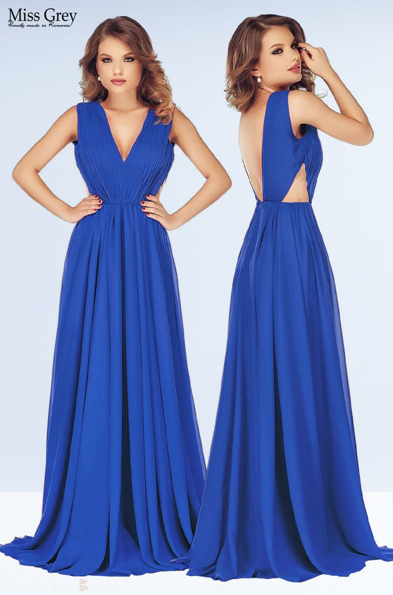 Blue Timea maxi dress Dresses, Maxi dress, Backless