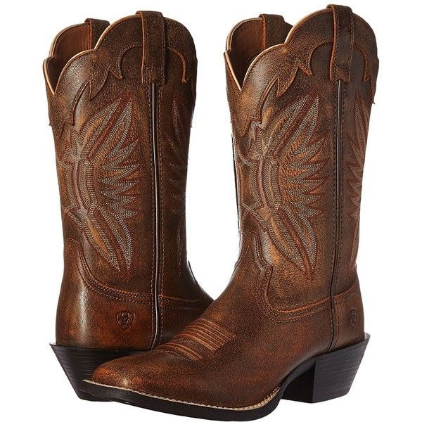 Ariat Round Up Outfitter Vintage Bomber Cowboy Boots 163
