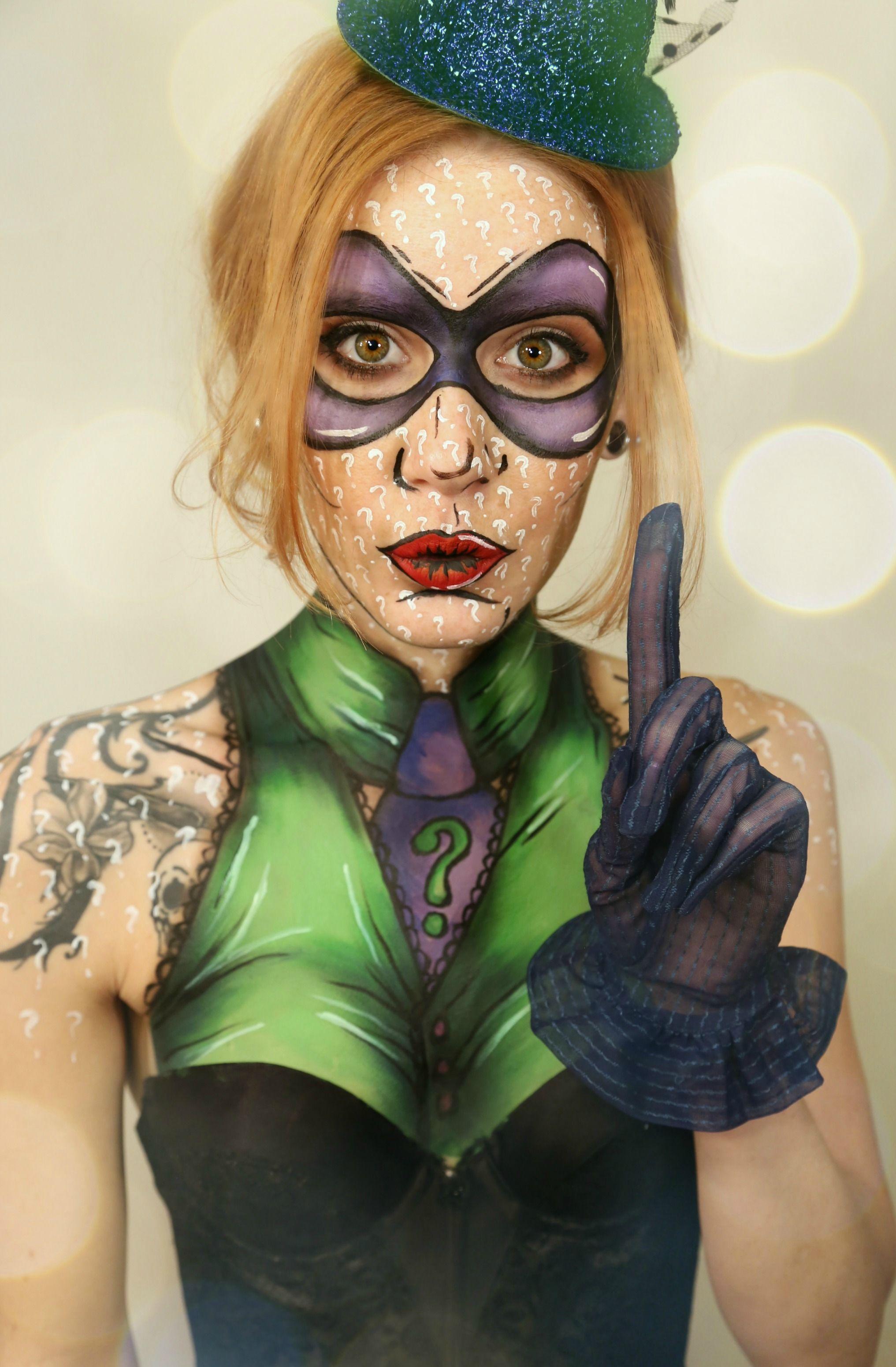 Riddler from Batman. Find me at Facebook Kissyg