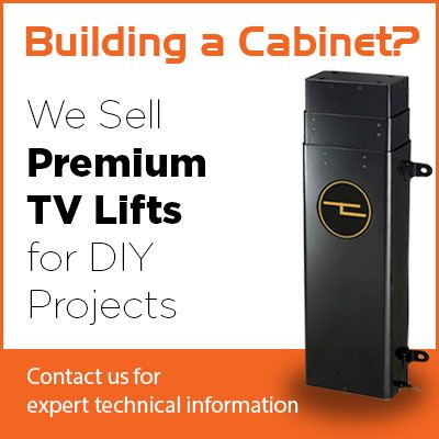 Tv Lift Pop Up Cabinet Hidden Cabinets Mechanism Concealed Lifts Motorised Pneumatic