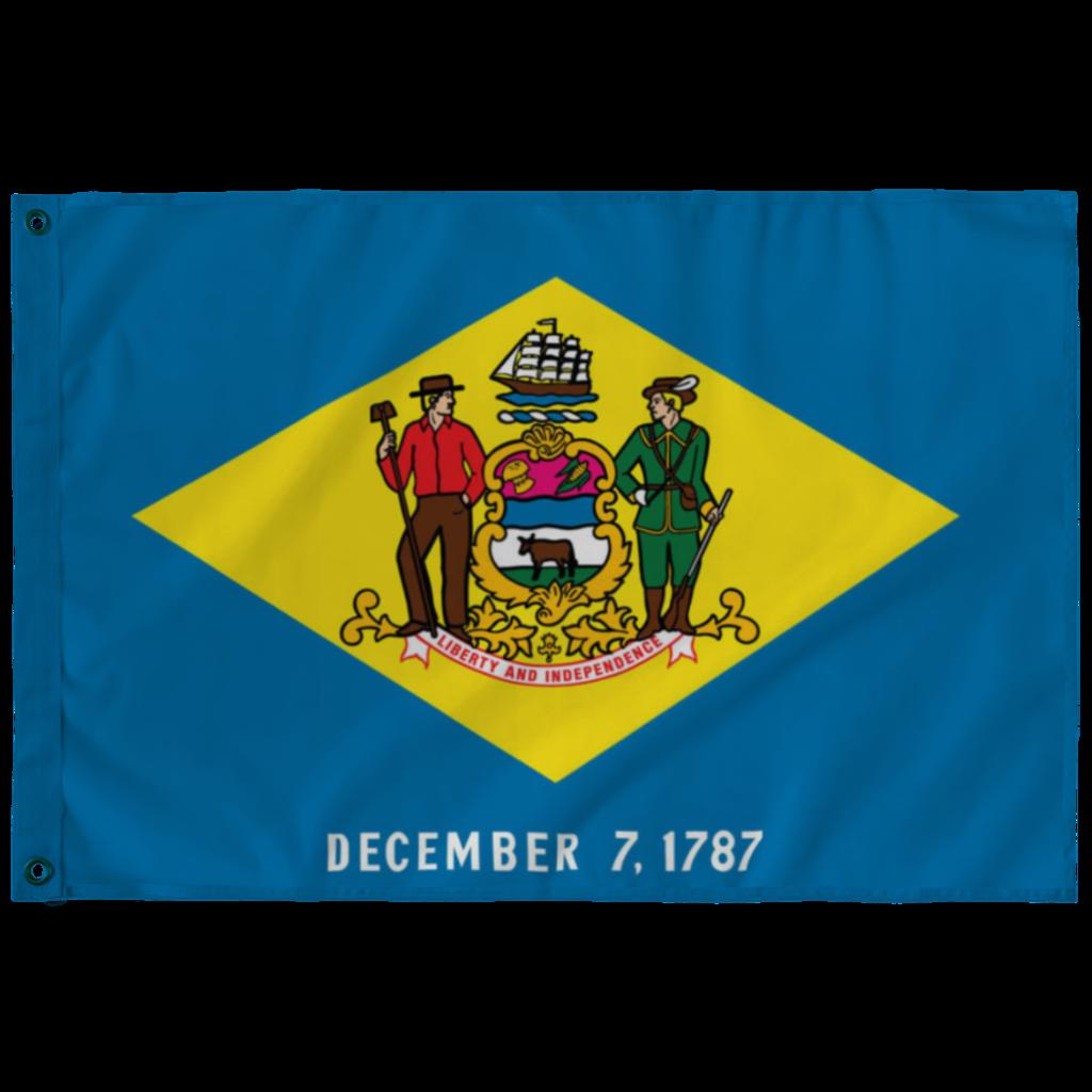 Delaware State Flag Delaware State Flag State Flags Delaware State