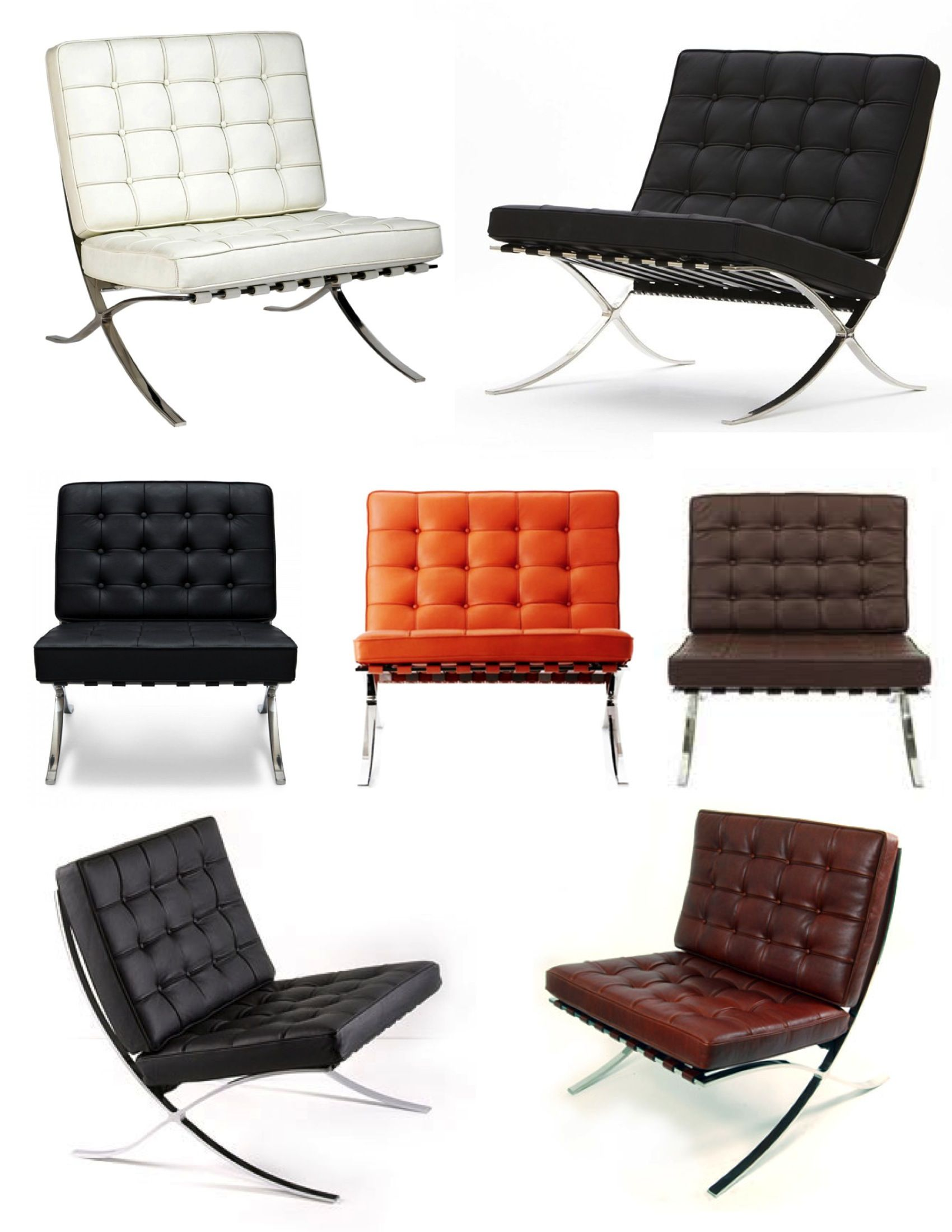 Barcelona Chair Used Home Office Desk Chairs Iconic Modern Style The Furniture Designers 20th Century Google Search