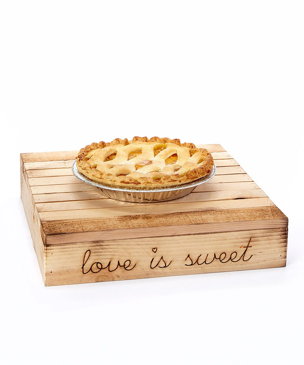 Gourmet Desserts Wedding Cakes By Shelly Wade: 'Love Is Sweet' Engraved Cake Stand #mothersdaygifts