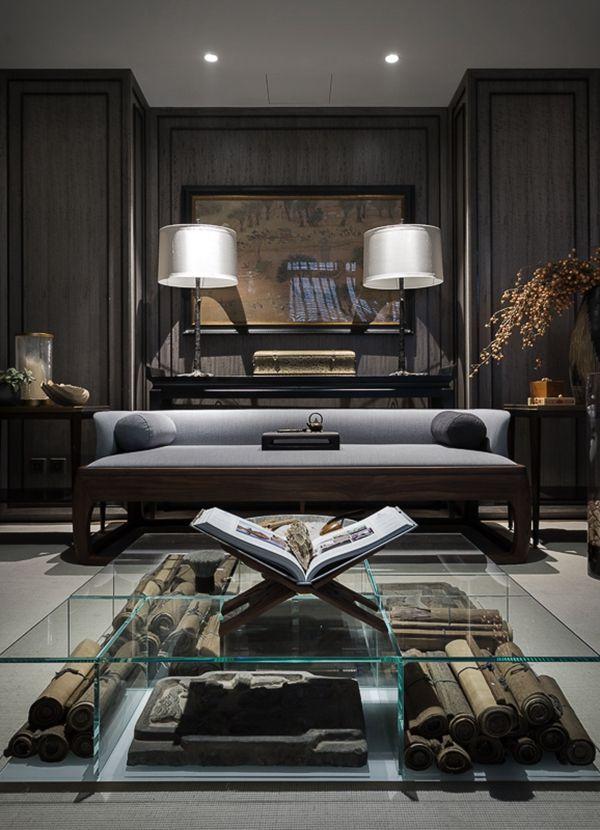 Lsdcasa丨安放自己 还是追逐身份 北京中粮瑞府 家居新闻 搜狐焦点家居 Luxury Living Room Living Room Decor Modern Luxury Living Room Decor